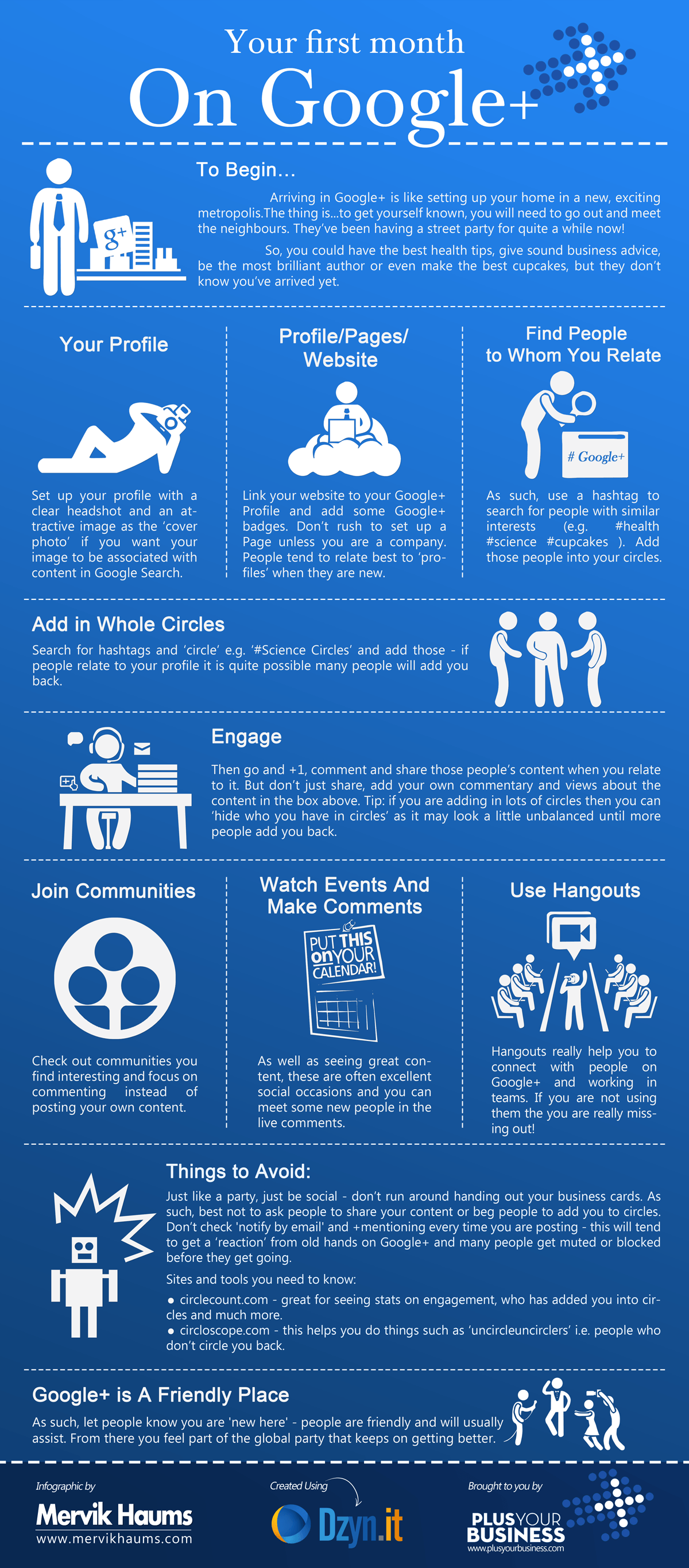 The Beginner's Guide to Google+ [Infographic]