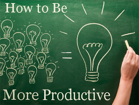 35 Short and Sweet Methods to Help You Be MORE Productive [Infographic]