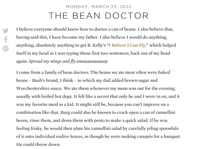 The Bean Doctor